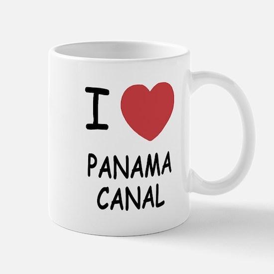 I heart panama canal Mug