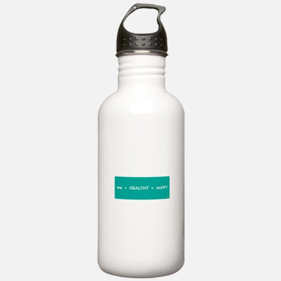 HAPPY MATH > Stainless water bottle (1.0L)