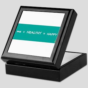 HAPPY MATH > tile+wood keepsake box