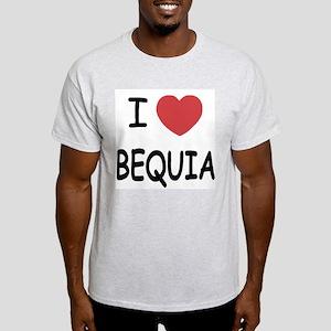 I heart bequia Light T-Shirt