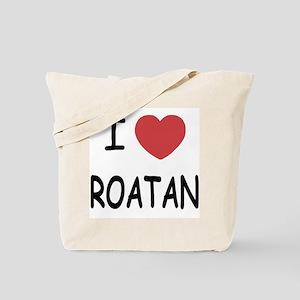 I heart roatan Tote Bag