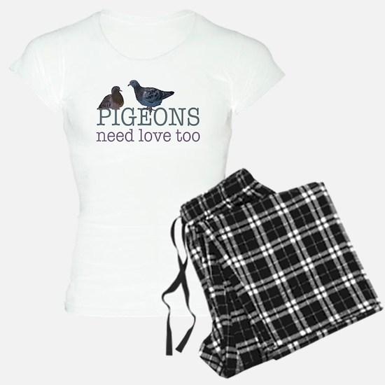 Pigeons need love Pajamas