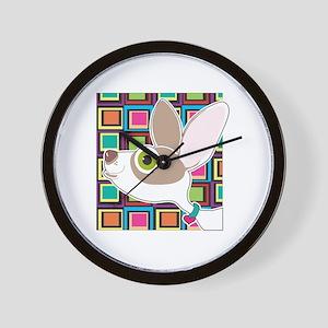 Chihuahua Portrait Wall Clock