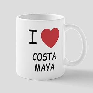 I heart costa maya Mug