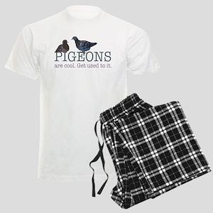 Pigeons are cool Men's Light Pajamas