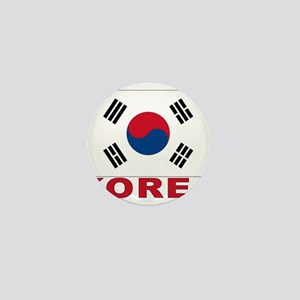 Korea Flag Mini Button