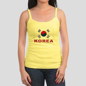 Korea Flag Jr. Spaghetti Tank