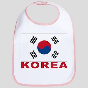 Korea Flag Bib