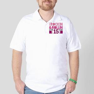 15th Anniversary Funny Gift Golf Shirt