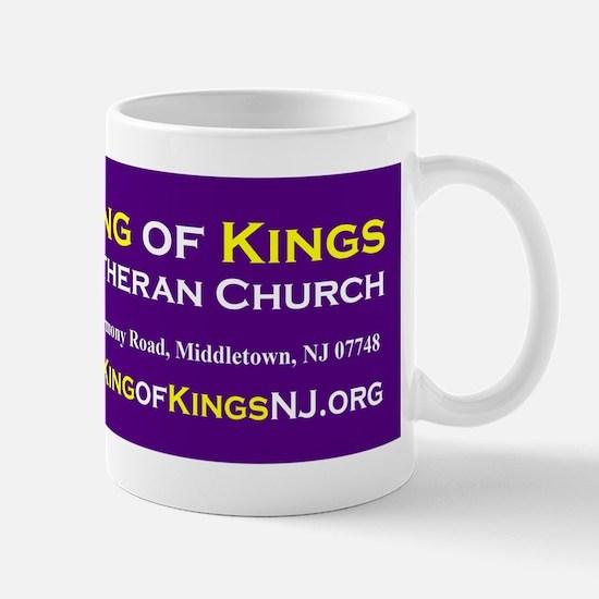 King of Kings Lutheran Church Mug