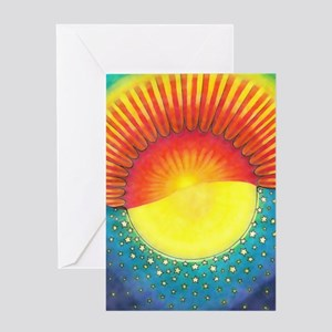 The Fourth Day Greeting Card