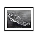 USS ORISKANY Framed Panel Print