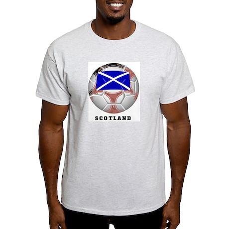 Scotland soccer Ash Grey T-Shirt