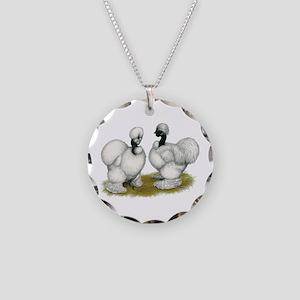 Showgirl Bantams Necklace Circle Charm