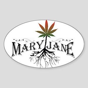 Mary Jane 2 Sticker (Oval)