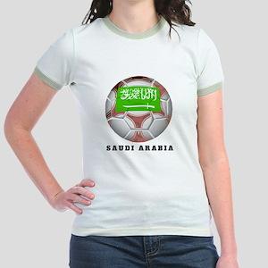 Saudi Arabia soccer Jr. Ringer T-Shirt