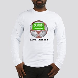 Saudi Arabia soccer Long Sleeve T-Shirt