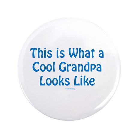 """Cool Grandpa 3.5"""" Button"""
