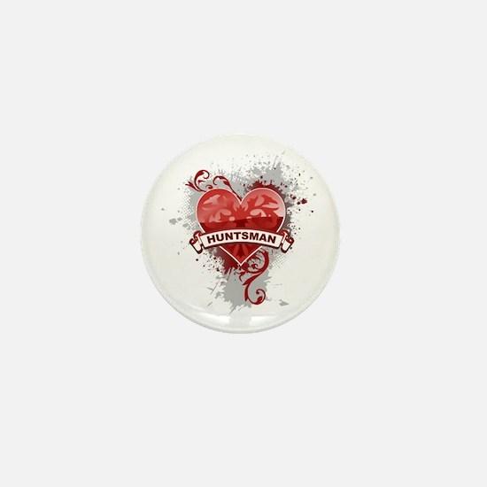 Love Huntsman Mini Button