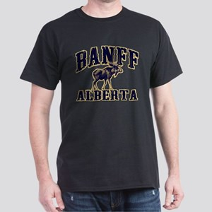 Banff Moose Dark T-Shirt