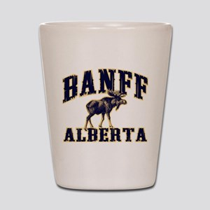 Banff Moose Shot Glass