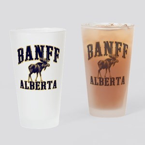 Banff Moose Drinking Glass