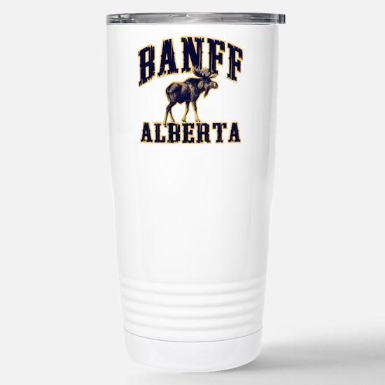 Banff Moose Stainless Steel Travel Mug