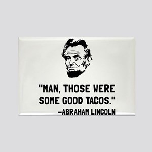 Lincoln Good Tacos Magnets