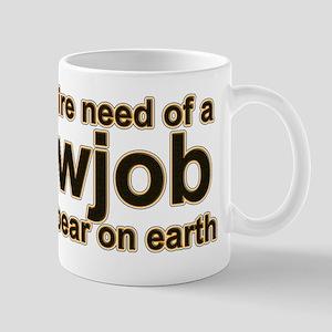in more dire need Mug