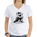 GBACG Women's V-Neck T-Shirt
