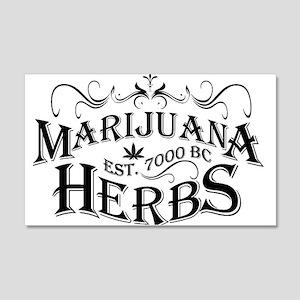 Herbs 22x14 Wall Peel