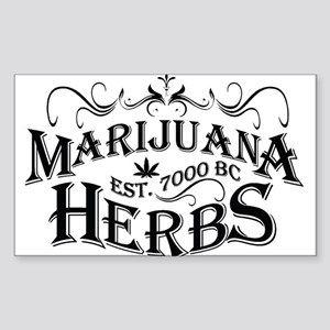 Herbs Sticker (Rectangle)
