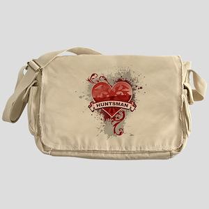 Love Huntsman Messenger Bag