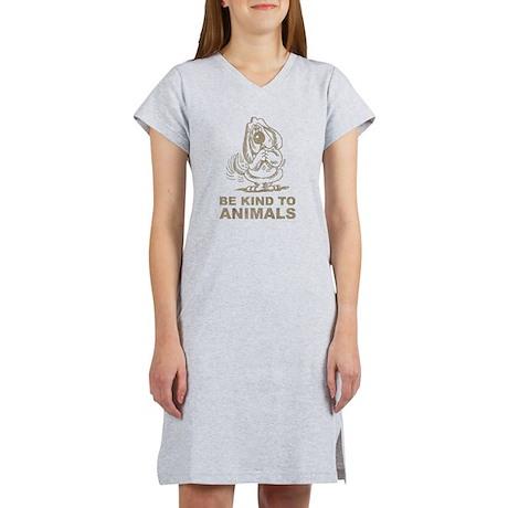 Be Kind To Animals Women's Nightshirt