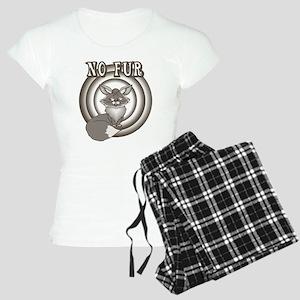 Retro No Fur Women's Light Pajamas