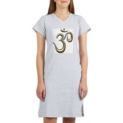 Golden Om Women's Nightshirt