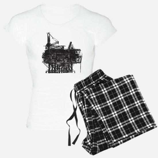 Vintage Oil Rig Pajamas