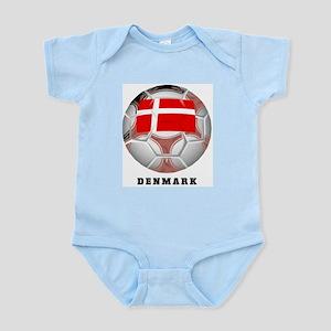 Denmark soccer Infant Creeper