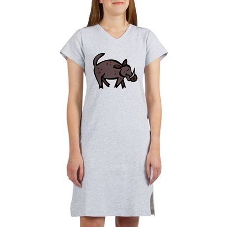 Cute Boar Women's Nightshirt