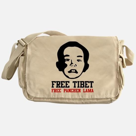 Free Panchen Lama Messenger Bag