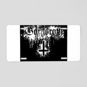Gorgoroth Aluminum License Plate