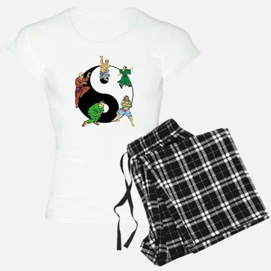 Yin Yang Kung Fu Pajamas