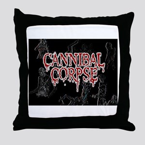 Cannibal Corpse Throw Pillow