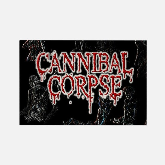 Cannibal Corpse Rectangle Magnet