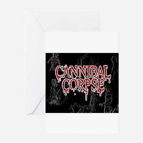 Cannibal Corpse Greeting Card