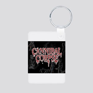 Cannibal Corpse Aluminum Photo Keychain