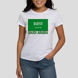 Saudi Arabia Flag Women's T-Shirt