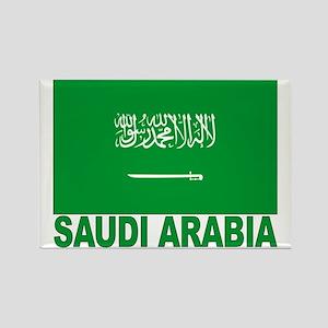 Saudi Arabia Flag Rectangle Magnet