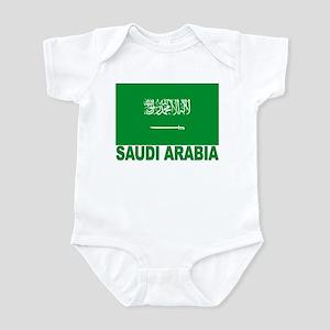 Saudi Arabia Flag Infant Creeper