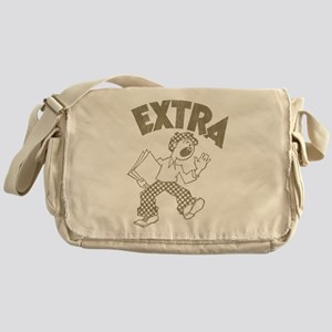 Retro Newsboy Messenger Bag